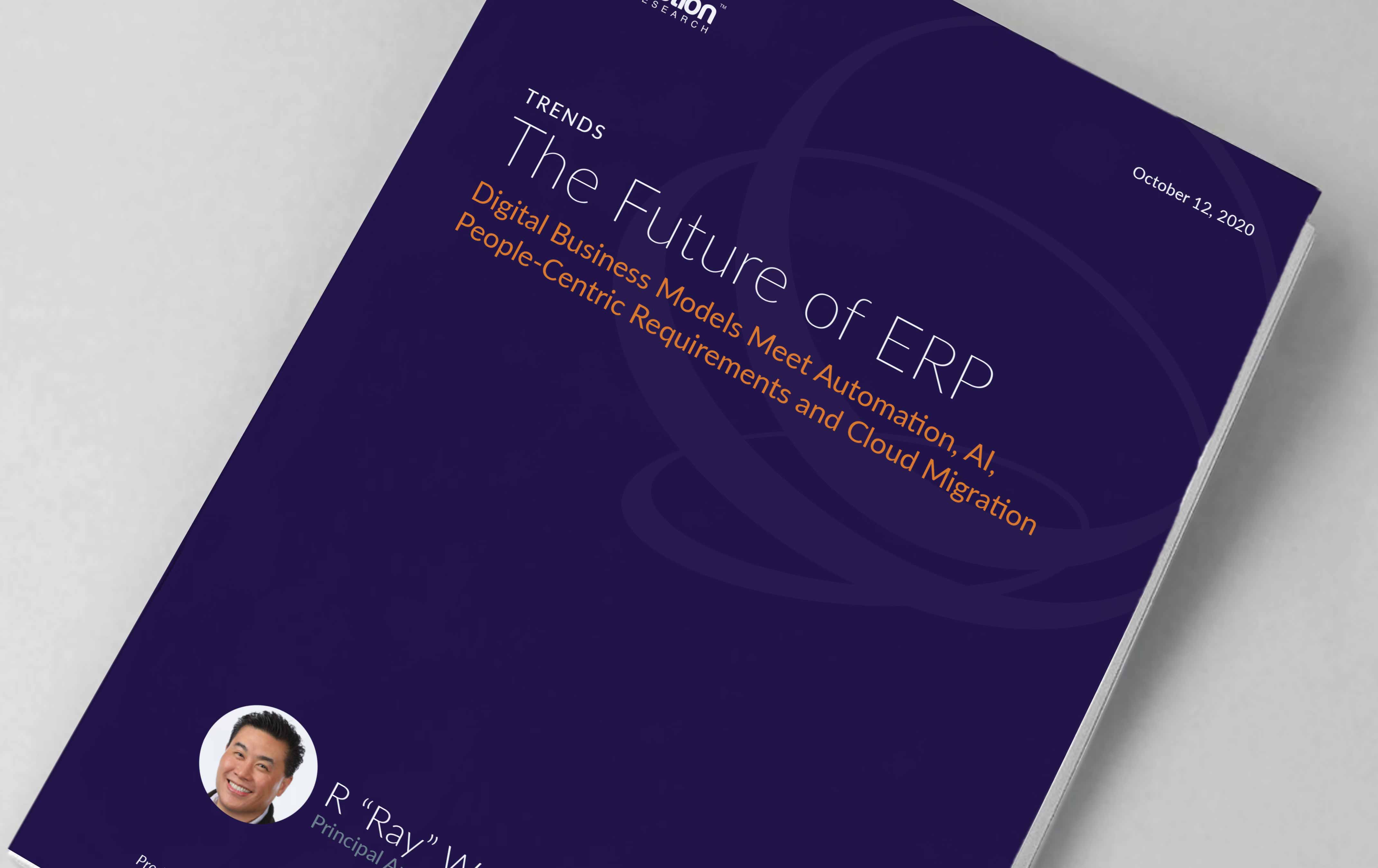 Cover image for Constellation Research report - 'The future of ERP'