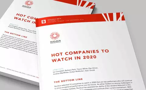 Nucleus Report Cover for Hot Companies to Watch in 2020