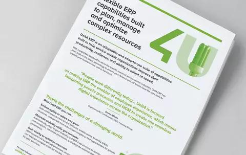 cover image for Product Focus: Unit4 Enterprise Resource Planning