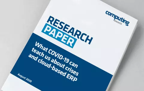 Thumbnail image of Computing Research report about COVID-19 and cloud ERP
