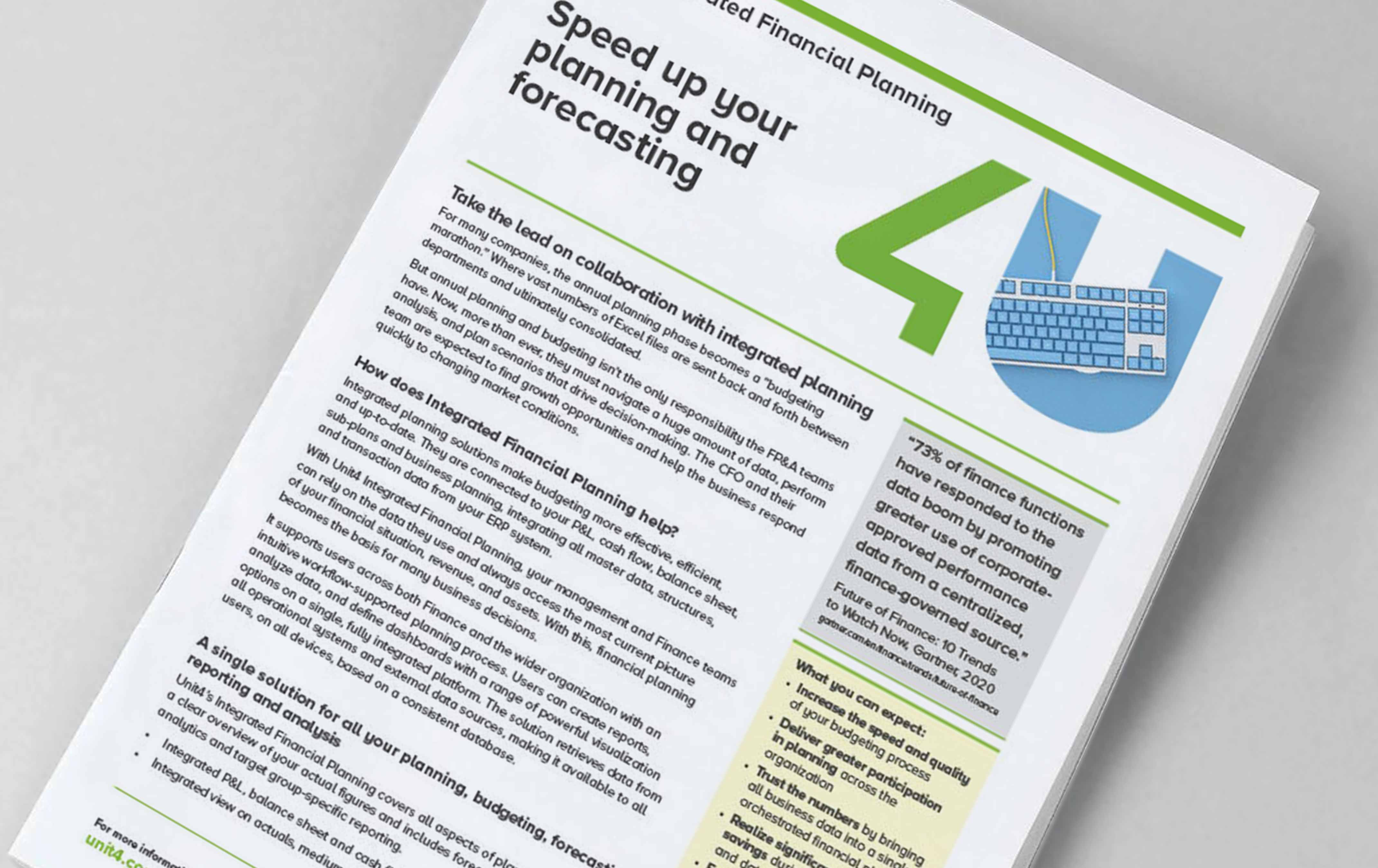 Cover image for Product Focus: Unit4 Financial Planning & Analysis